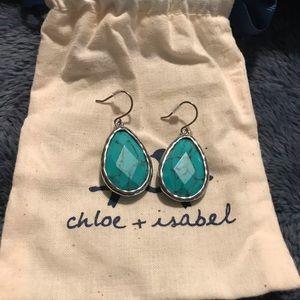 Chloe & Isabel Minaret turquoise teardrop earrings